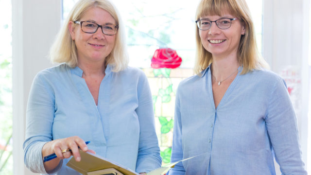 Mitarbeiter und Pflegepersonal im Altenheim Seniorenresidenz Uelzen